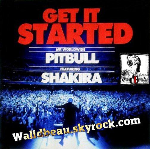 Pitbull Ft. Shakira  / Get It Started (2012)