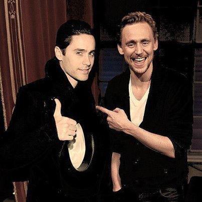 . Tom Hiddleston # Jared Leto !