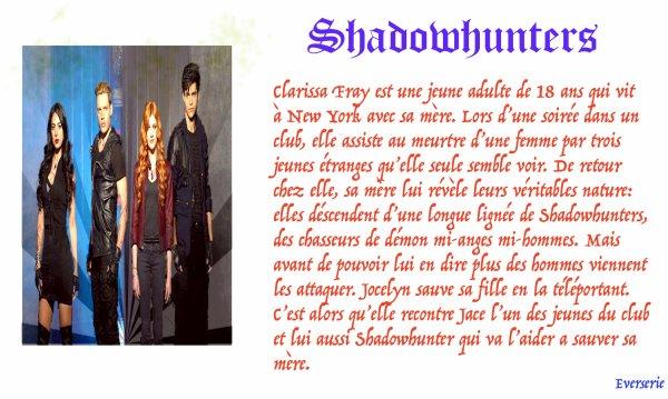 Série: Shadowhunters