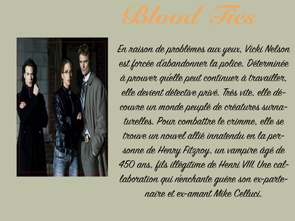 Série: Blood Ties