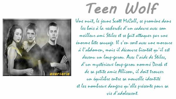 Série: Teen wolf