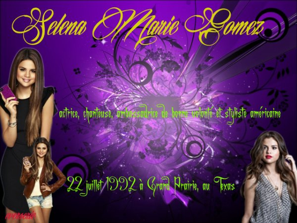 Acteur: Selena  Gomez