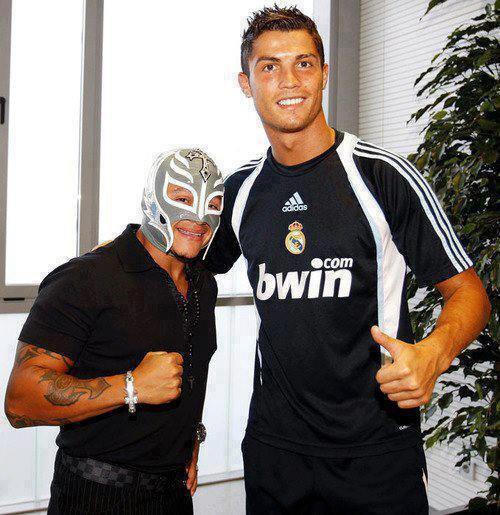 rey mysterio et cr7
