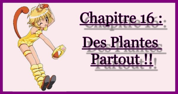 Chapitre 16 : Des Plantes Partout !!
