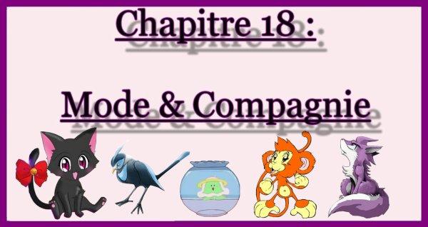 Chapitre 18 : Mode & Compagnie