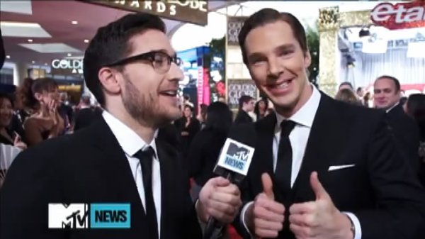 Golden Globe 2013 - Interview