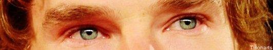 Benedict's eyes