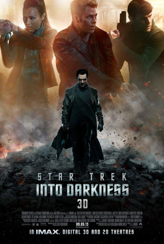 La nouvelle bande-annonce et l'affiche 3D pour Star Trek II