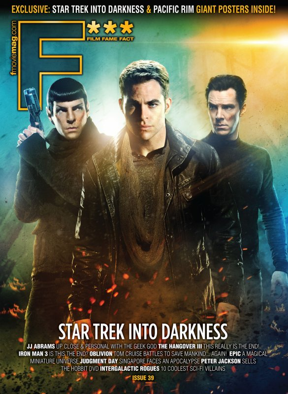 Poster Star Trek II Magazine - April 2013