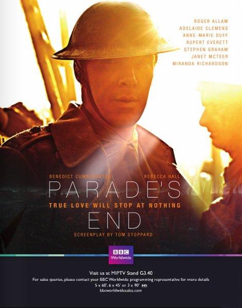 Parade's End - Diffusions 07/06 et 14/06 2013 sur Arte