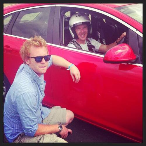 @adamackland avec Benedict Cumberbatch