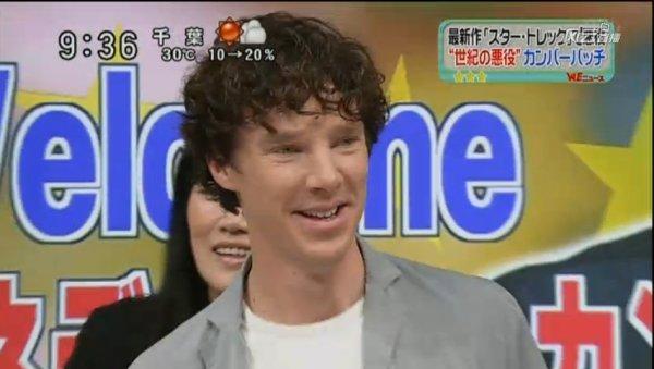 TV Show Japonais Sukkiri avec Benedict Cumberbatch