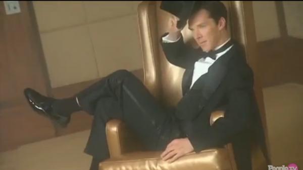 Benedict Cumberbatch dans The People Magazine et vidéo du Photoshoot