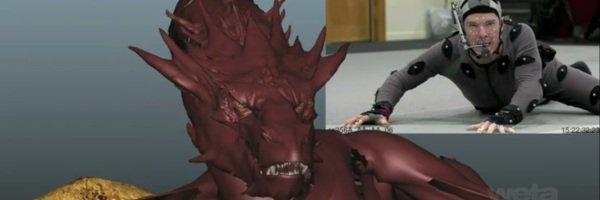 Benedict dans la peau de Smaug : on vous montre tout !