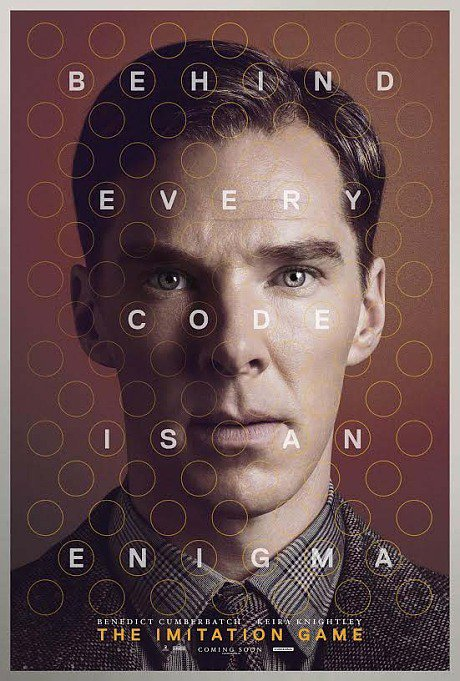 "Nouvelle affiche pour le film ""The Imitation Game"""
