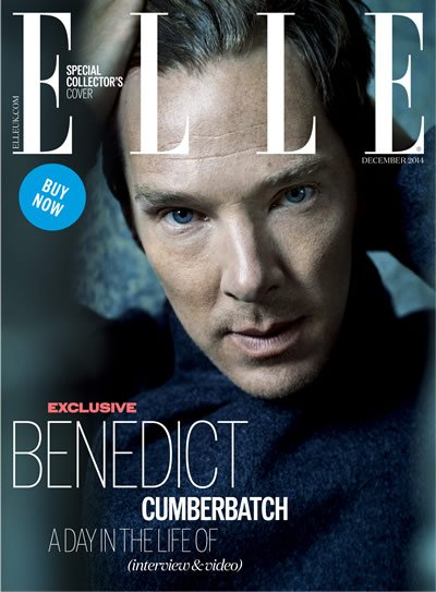 Cover Magazine ELLE UK