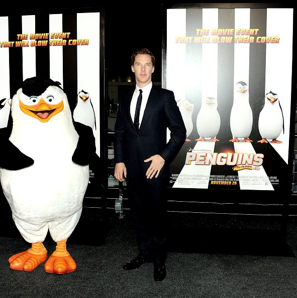 Première des Pingouins de Madagascar à New York
