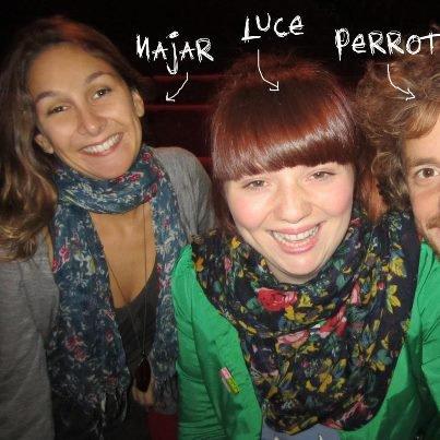 """Septembre 2011 Part 1 : Duo Luce/Max Boublil : """"Moyen Moyenne"""" (Le 03) + Photos de Luce en Répétition pour """"Taratata"""" avec Matthieu Boogaerts + Luce dans """"Taratata"""" (Le 06) + Photo de Luce avec Najar & Perrot (Le 10)"""