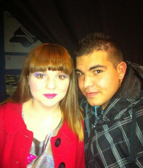 Janvier 2012 : Luce en Concert à Bordeaux + Photo avec un Fan (Le 14)