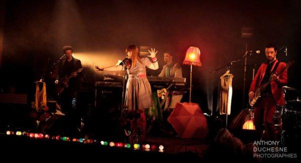 """Février 2012 : Luce parle de ses années Lycée + Luce en Concert à Dardilly (Le 03) + Luce dans l'Emission """"Hit Talent"""" (Le 05) + Luce en Concert à St Gilles (Le 10) + Luce dans l'Emission """"Le meilleur de Nouvelle Star"""" (Le 14)"""
