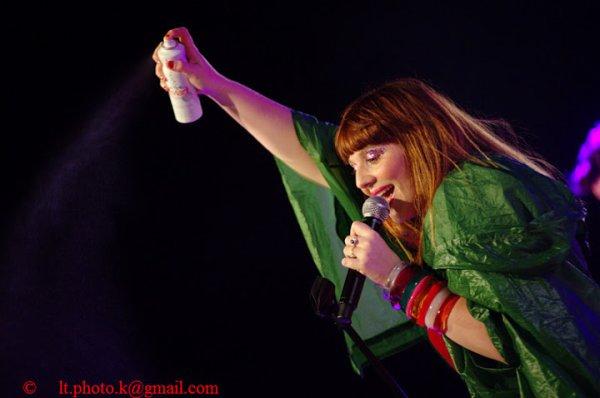 Juillet 2012 Part 1 : Concert de Luce à Valence pour l'ouverture du Festival (Le 06)