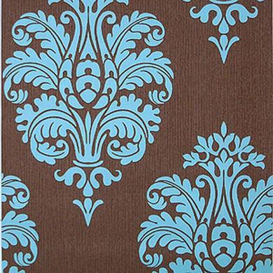 Papier Peint Turquoise Chocolat