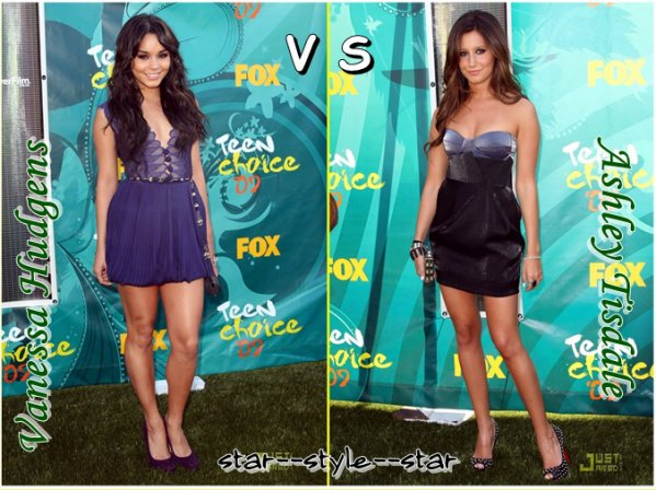 TCA 09 : Vanessa Hudgens VS Ashley Tisdale