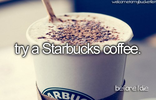 Before I die.