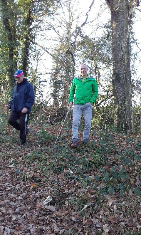 Marche en forêt avec Jean-Marie