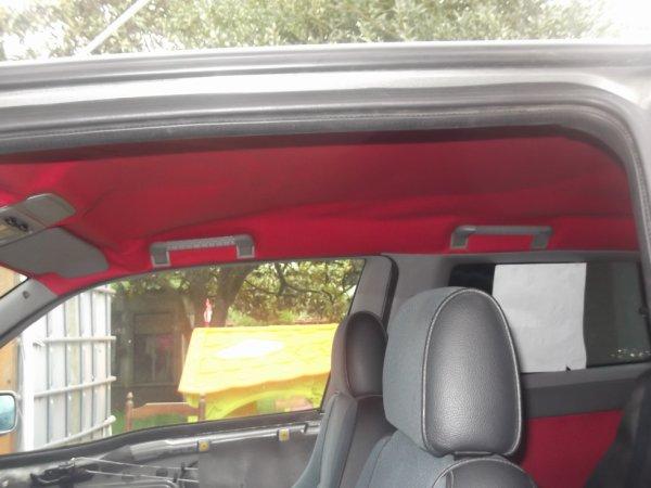 toit de la voiture
