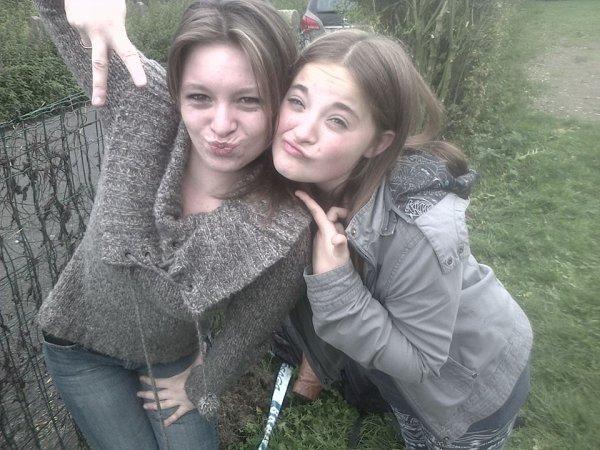 Ma meilleure amie!♥♥
