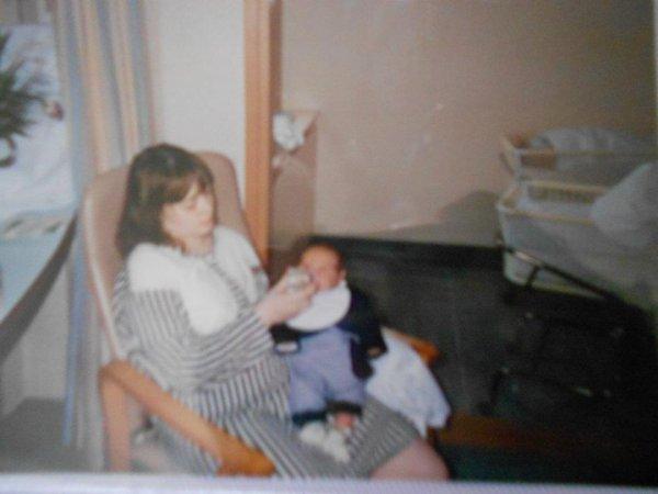 Souvenirs avec ma maman étant petite♥