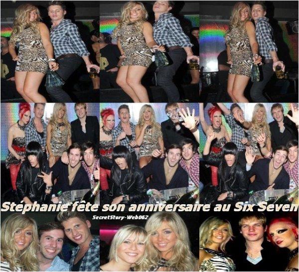 Stéphanie a fêté ses 22 ans au Six Seven avec la Team Pression le 15/12/2010 !