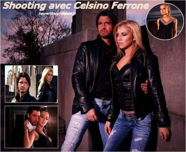 Photoshoot de Stéphanie et de Celsino Ferrone !