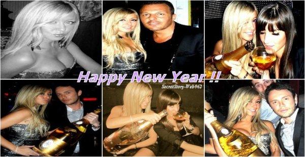 Stéphanie a fêté la nouvelle année en compagnie de sa cousine et de John !