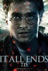 L'affiche du dernier harry potter, un monstre ce film!!!!