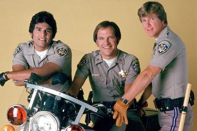 Erik Estrada... Larry Wilcox + moto =...