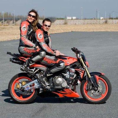 Christophe et Claudia ou la Team Duke Acrobatie