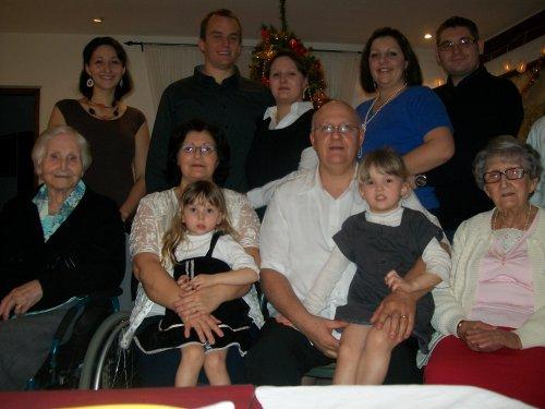 Famille GERARD Noel 2010