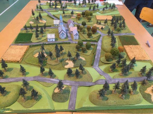 Moncheaux table Ardennes