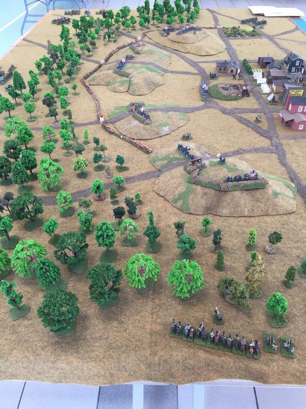 Moncheaux 2018       Bataille d'Helena ACW 1863  règle Fire & Fury Regimental