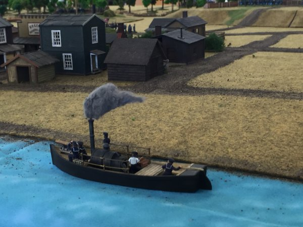 Patrouille fluviale sur le Mississippi