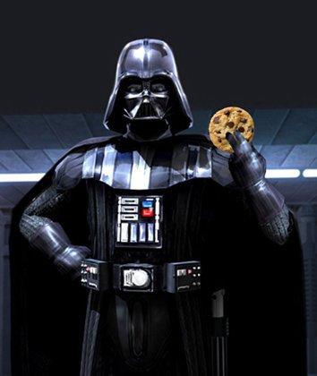 Rejoins le côté obscur, on a des cookies.