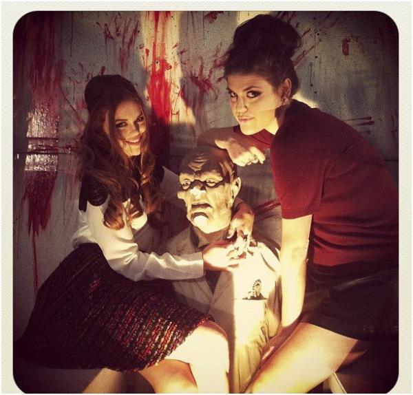 Holland Roden , Photo Pour La Soirée Halloween Sur MTV !