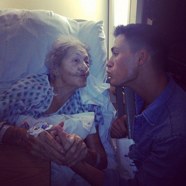 Colton & Sa Grand Mère ♥