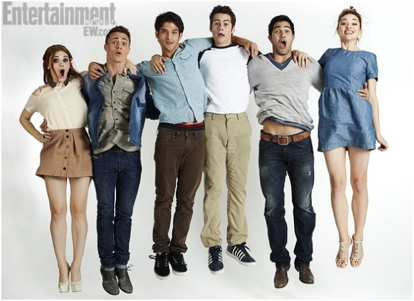 Photoshoot du cast !