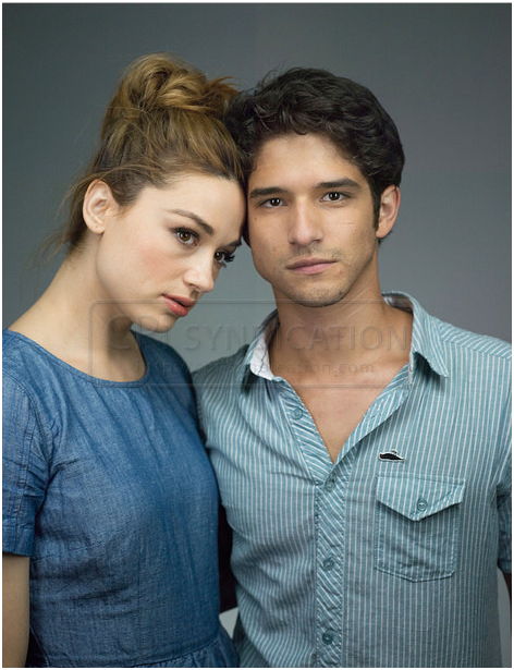 "Nouvelle Photo Du ""Comic Con"" de Tyler Posey & Chrystal"