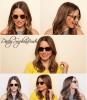 10.10 Sophia est l'égérie de la marque Warby Parker pour l'association Pencils of Promise