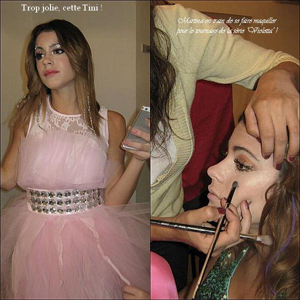 Voici des photos pendant le tournage de Violetta + 1 montage par moi divers trop beaux !!