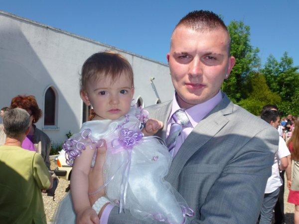 moi et ma fille elle et belle tien !!!